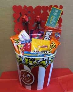Movie Night Gift Basket Draw